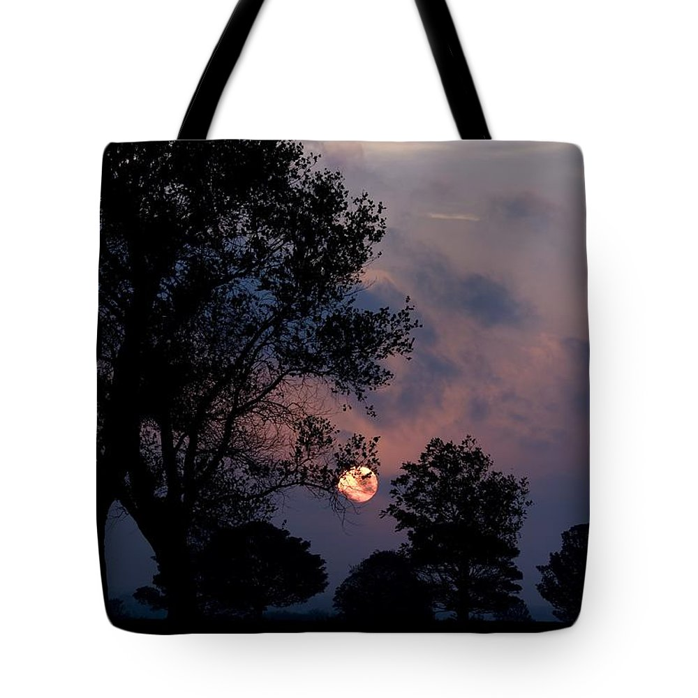 Sun Tote Bag featuring the photograph Captured Sun by Martin Cooper