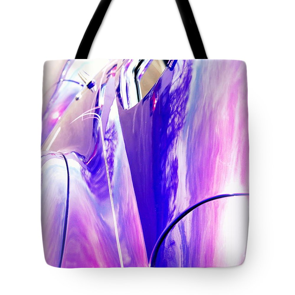 Reflections Tote Bag featuring the photograph Car Reflections by Susanne Van Hulst