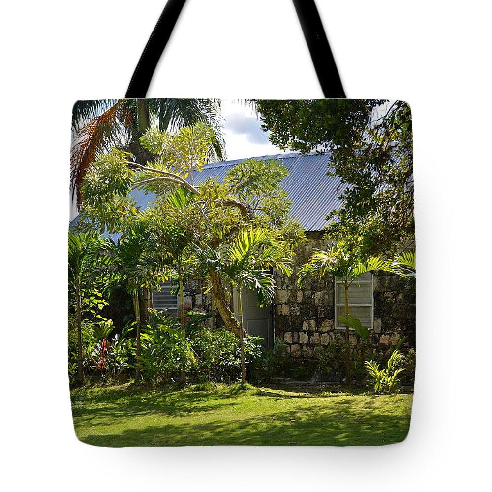 Garden Tote Bag featuring the photograph Caribbean Garden by Carol Bradley