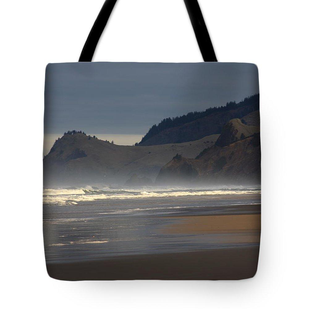 Oregon Coast Tote Bag featuring the photograph Cascade Head by John McManus