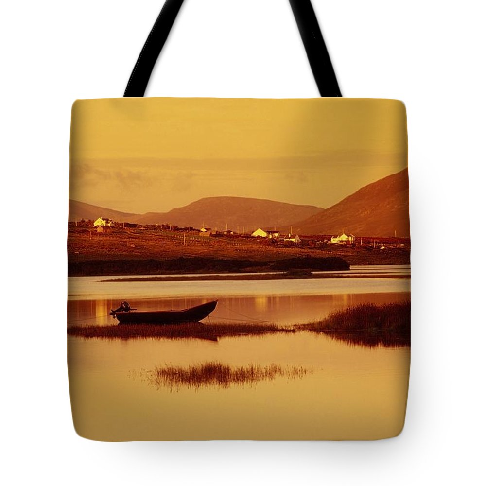 Cummins Tote Bag featuring the photograph Cashel, Achill Island, County Mayo by Richard Cummins