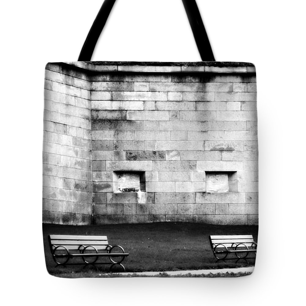 Castle Island Tote Bag featuring the photograph Castle Island by Marysue Ryan