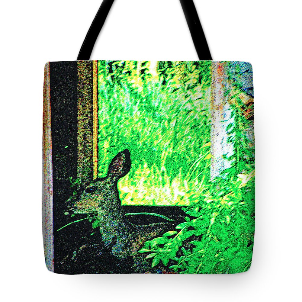 Expressive Tote Bag featuring the photograph Catching Some Shade by Lenore Senior
