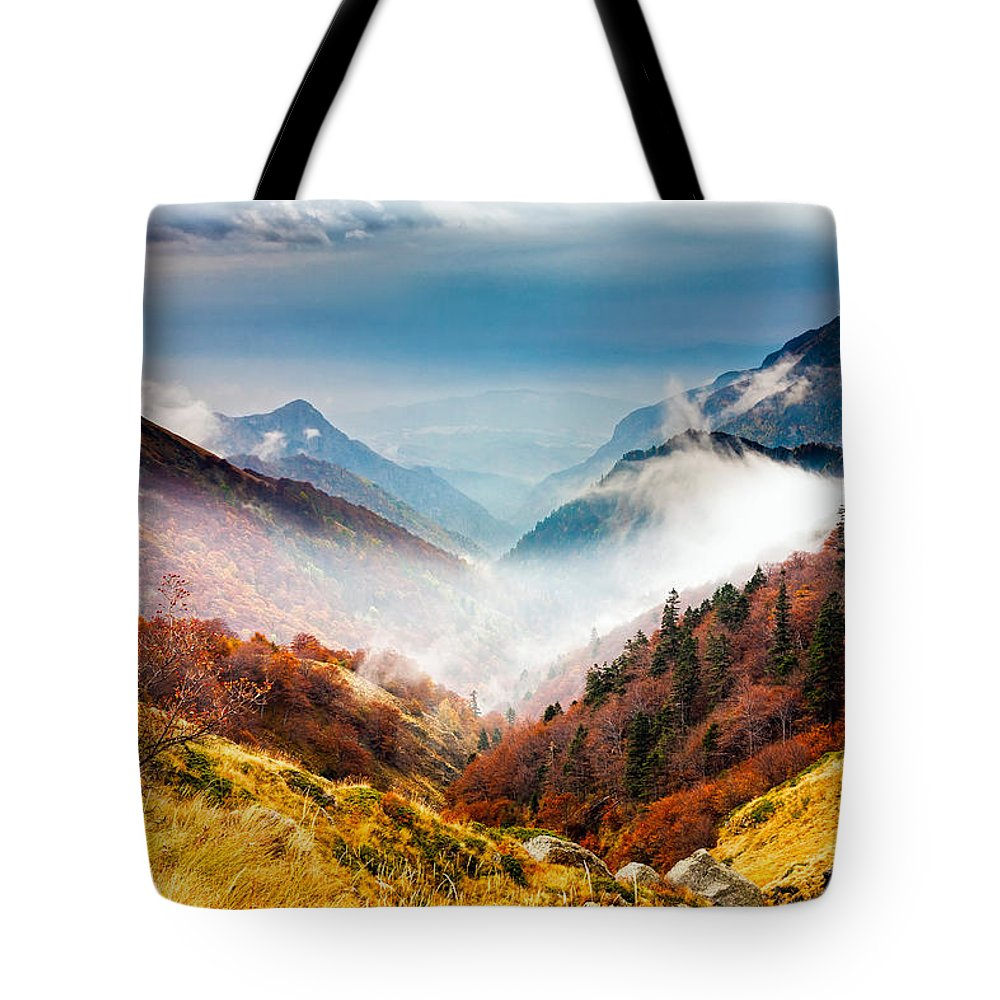 Balkan Mountains Tote Bag featuring the photograph Central Balkan National Park by Evgeni Dinev
