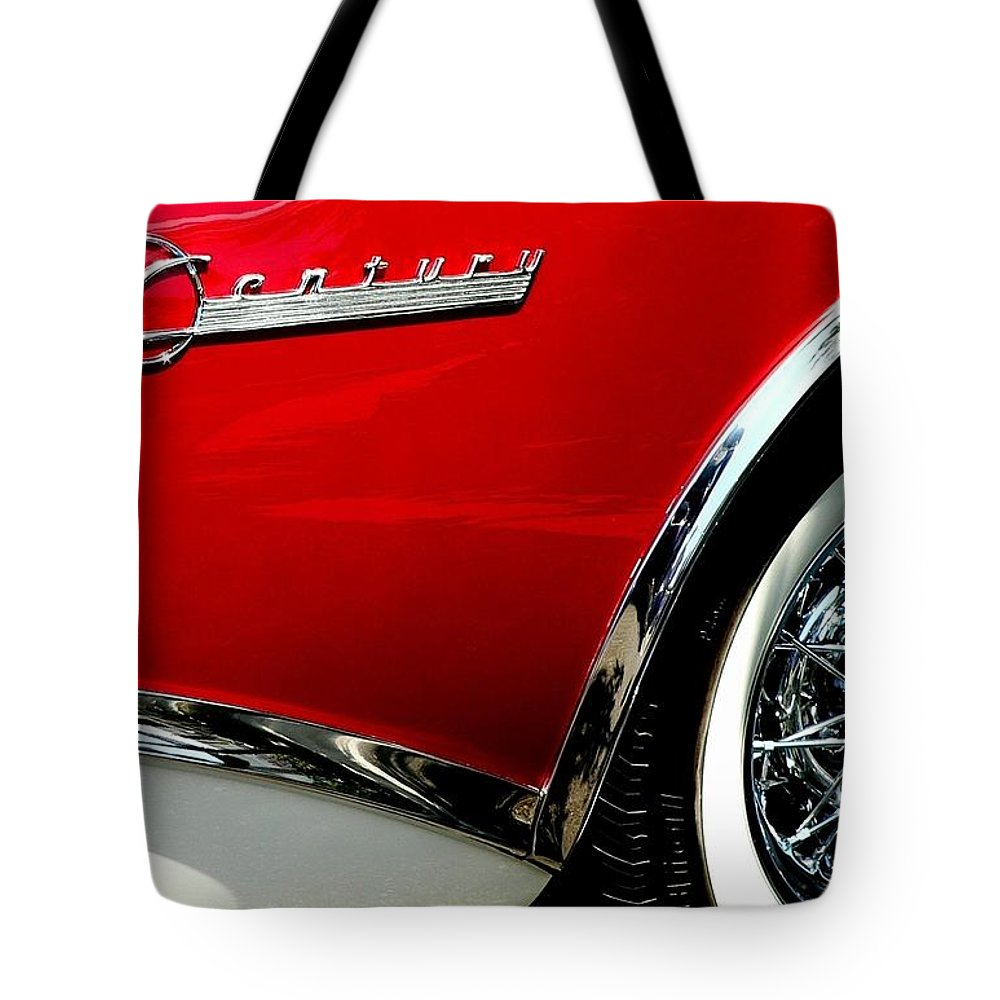 Century Tote Bag featuring the photograph Century by Jeff Lowe