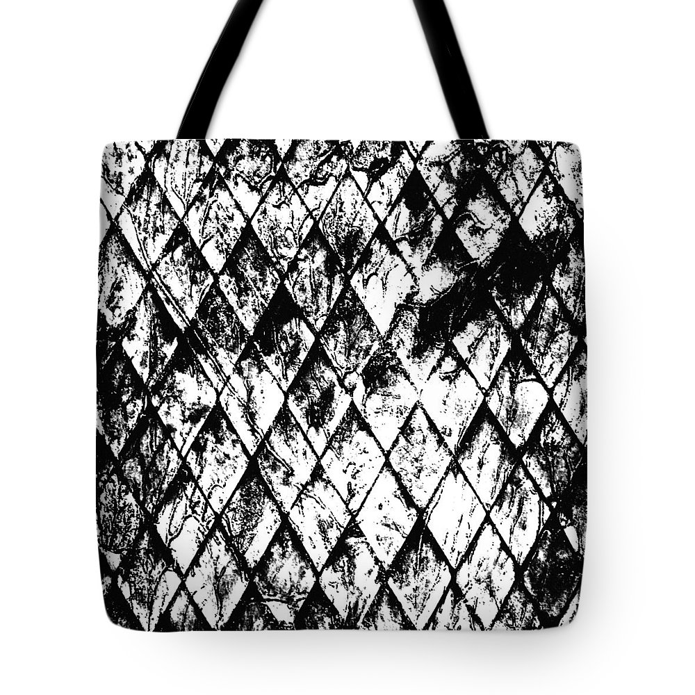 Chain Link Tote Bag featuring the digital art Chain Link by Russell Clenney