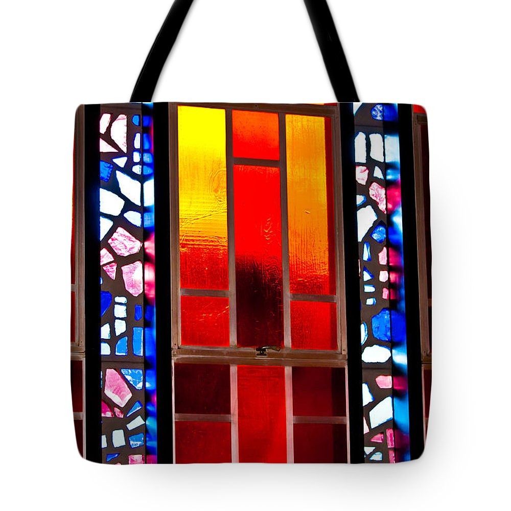 Air Tote Bag featuring the photograph Chapel Shadows by Colleen Coccia