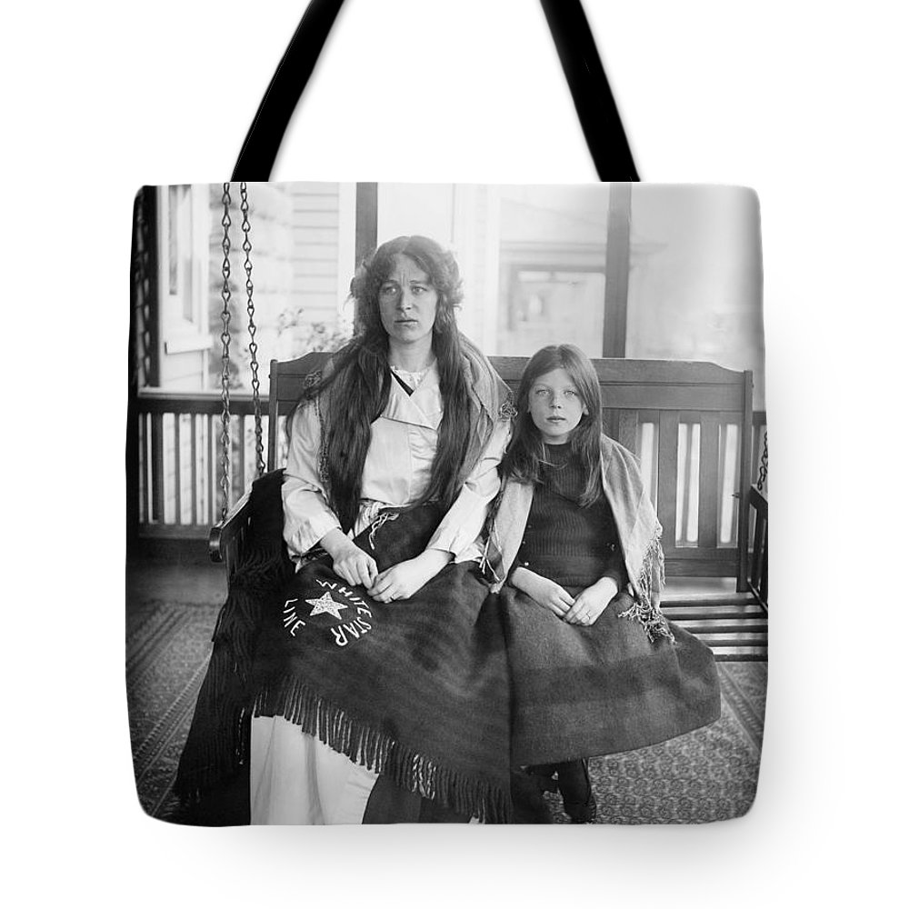 1912 Tote Bag featuring the photograph Charlotte Collyer by Granger