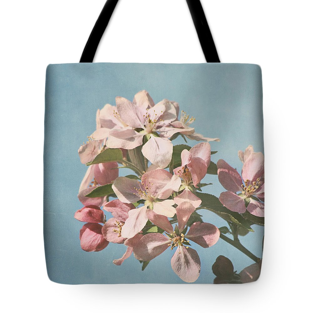 Cherry Blossoms Photographs Tote Bag featuring the photograph Cherry Blossoms by Kim Hojnacki