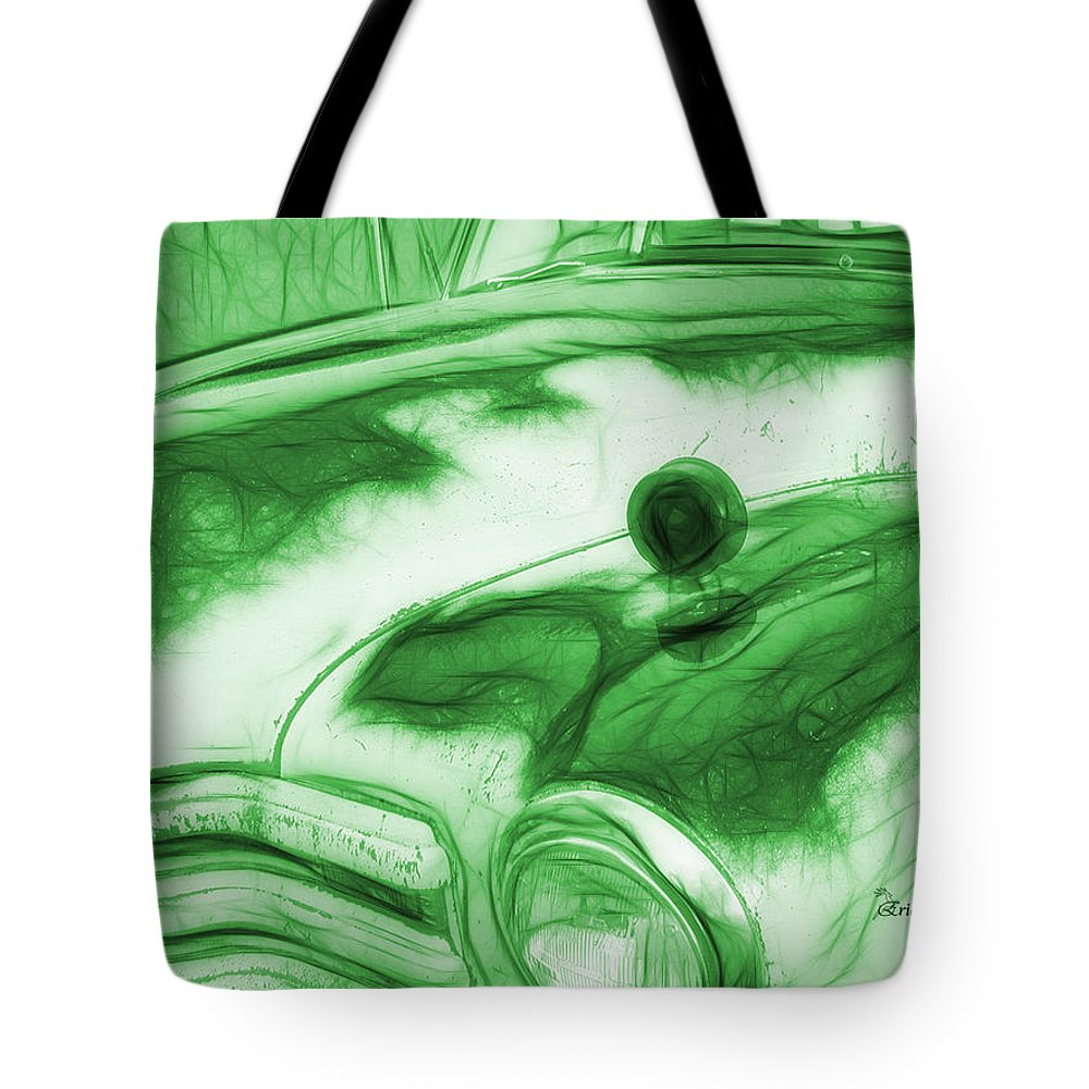 Truck Tote Bag featuring the photograph Chevy Truck by Ericamaxine Price