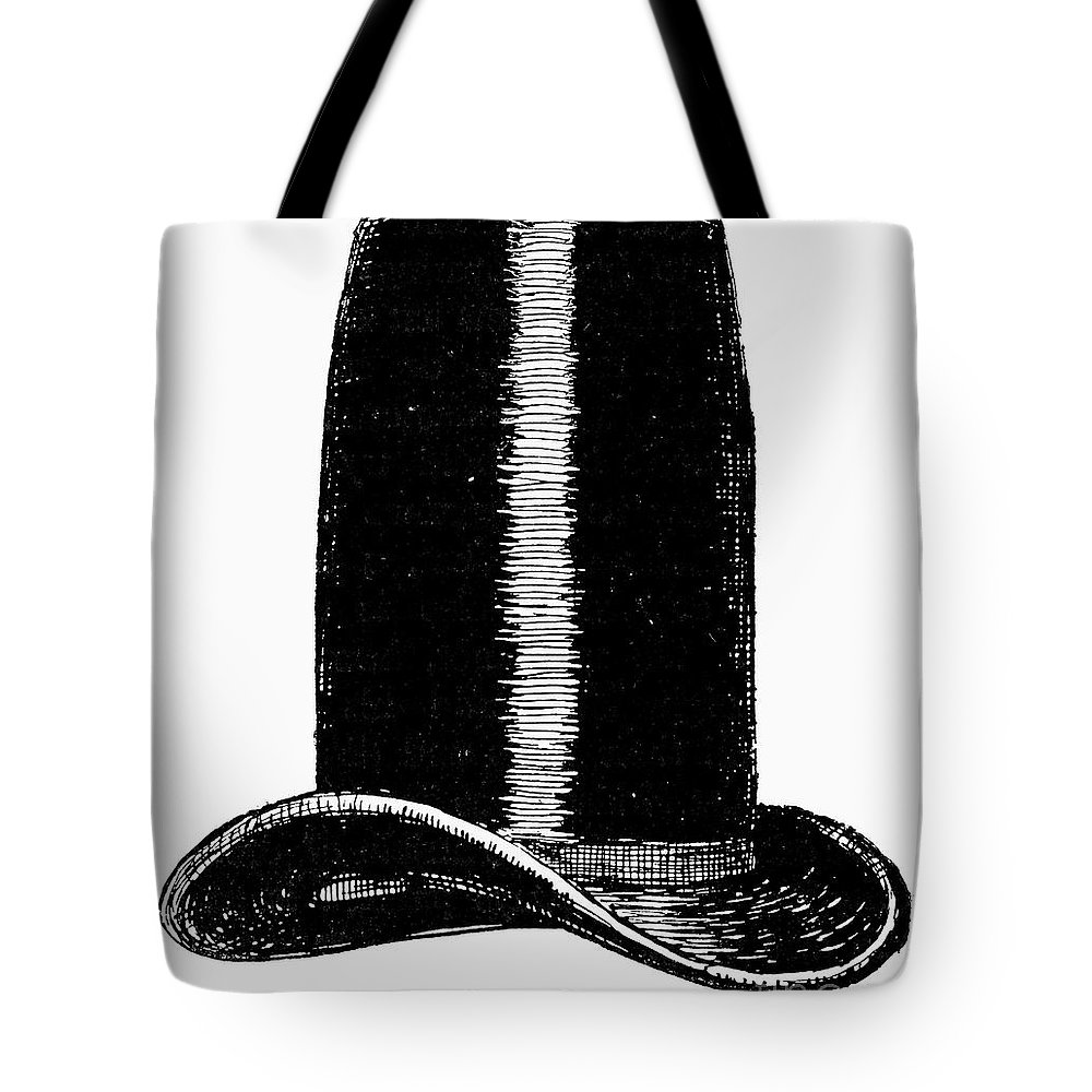 1850 Tote Bag featuring the photograph Chimney-pot Hat, C1850 by Granger