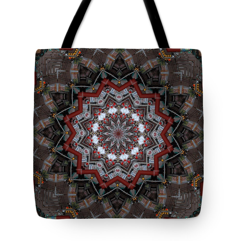 China Town Tote Bag featuring the photograph China Town by Trish Tritz