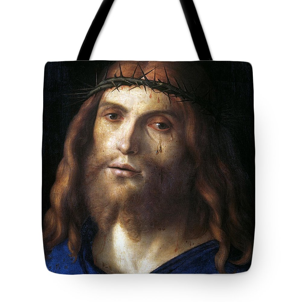 1510 Tote Bag featuring the photograph Christ Crowned With Thorns by Granger