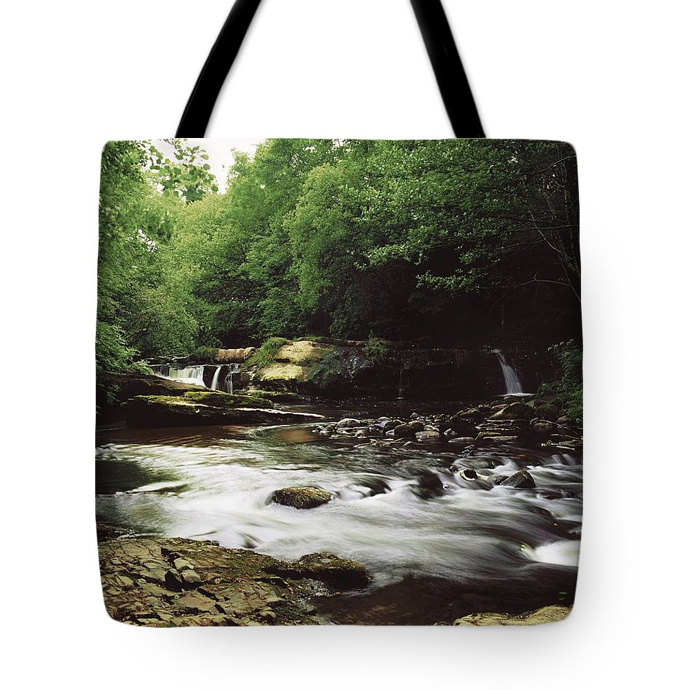 Outdoors Tote Bag featuring the photograph Clare River, Clare Glens, Co Tipperary by The Irish Image Collection
