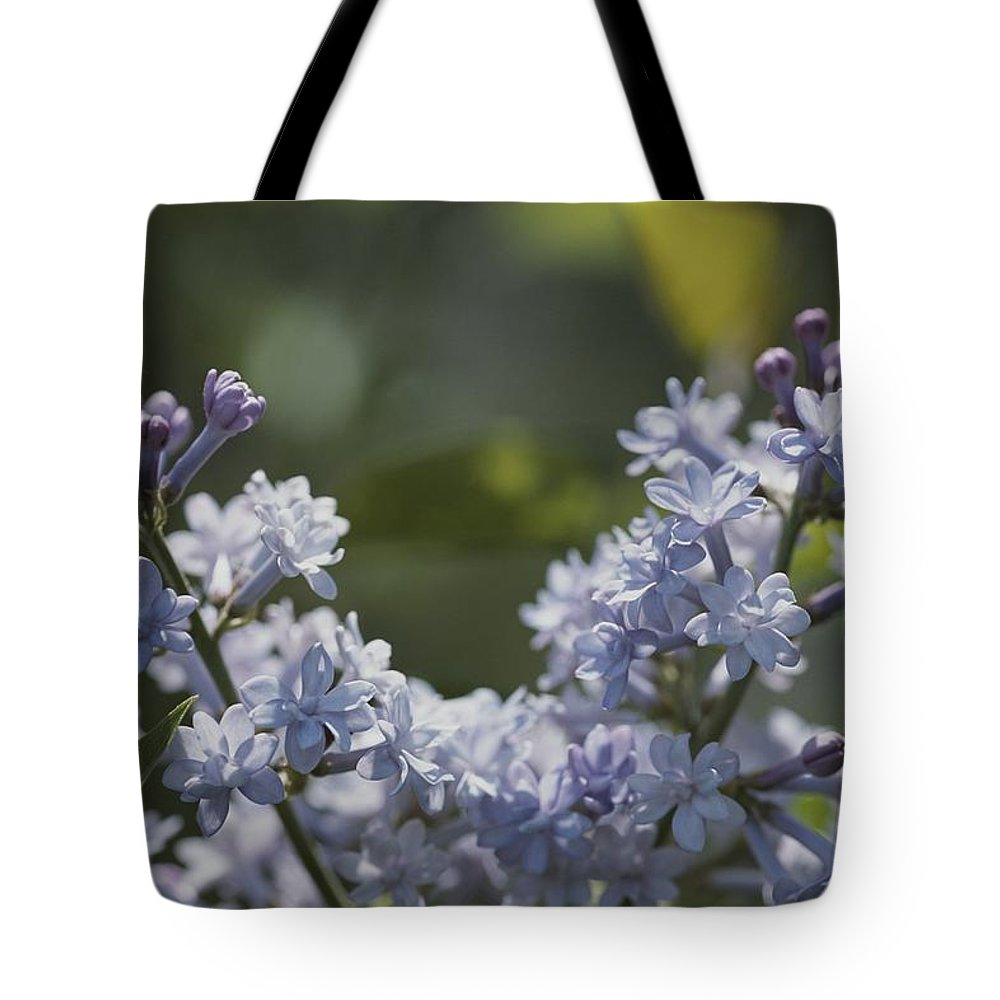 Subject Tote Bag featuring the photograph Close View Of Hyacinth Lilacs Syringa by Darlyne A. Murawski