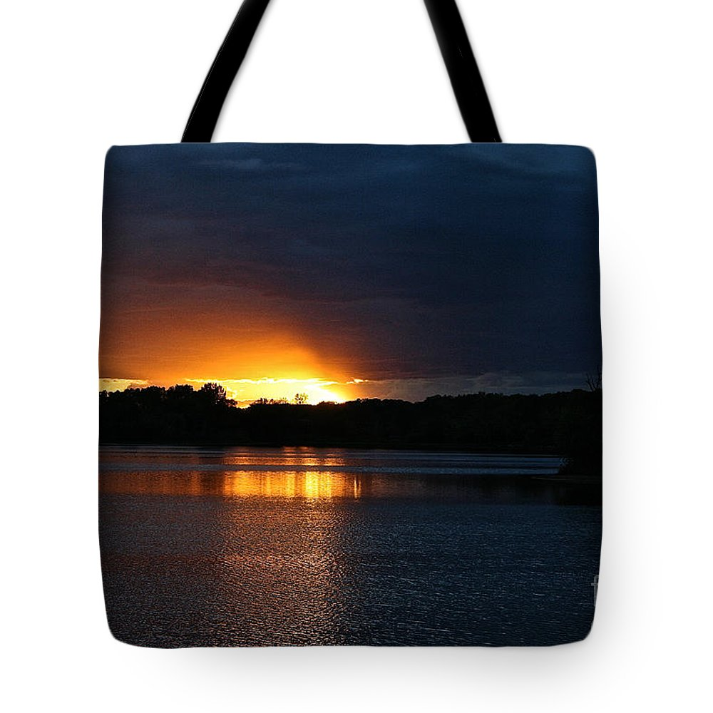 Tote Bag featuring the photograph Cloud Color Spectrum by Susan Herber