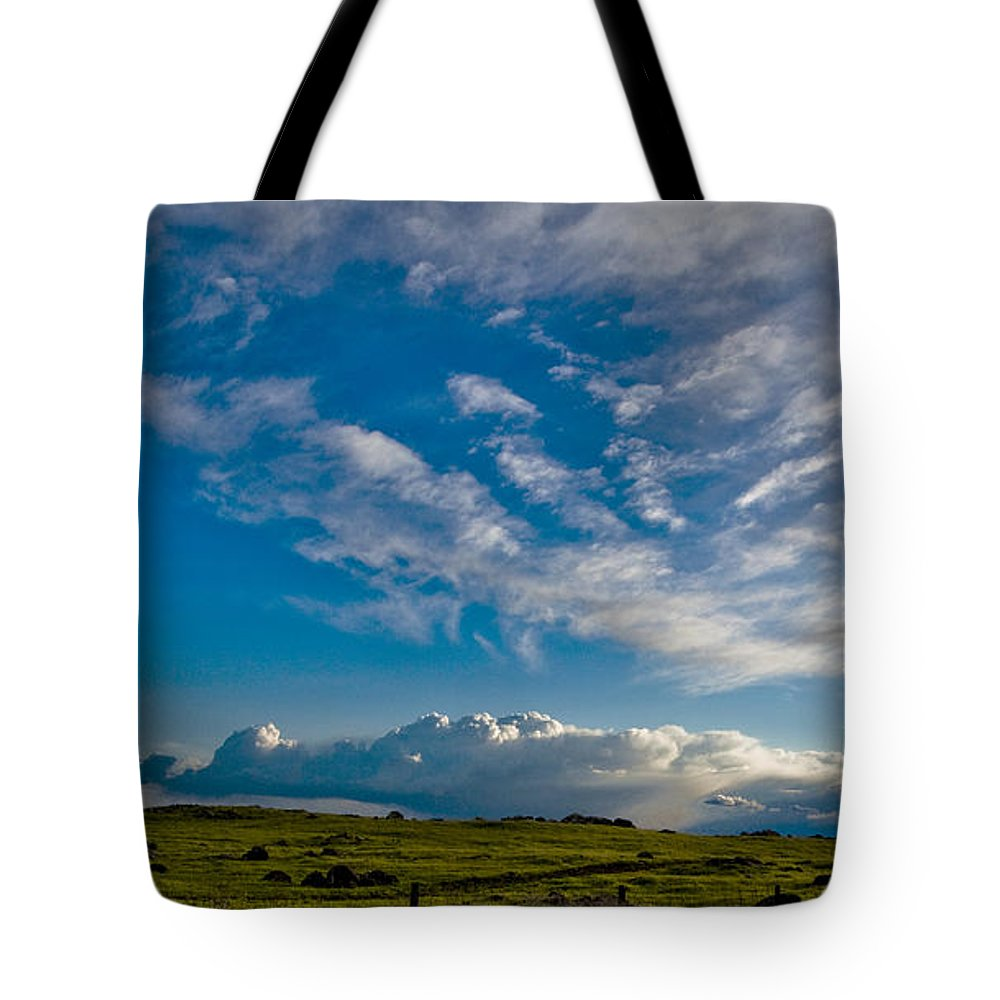 Tote Bag featuring the photograph Clouds Iv by Donovan Conway
