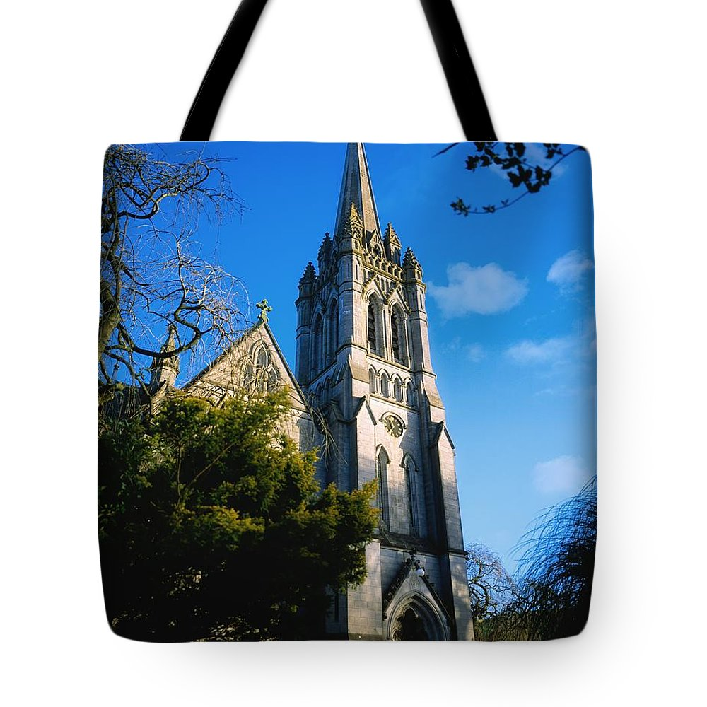 E.u. Tote Bag featuring the photograph Co Carlow, Myshall Church Dedicated To by The Irish Image Collection