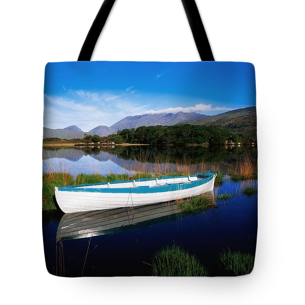 Boat Tote Bag featuring the photograph Co Kerry, Lakes Of Killarney by The Irish Image Collection