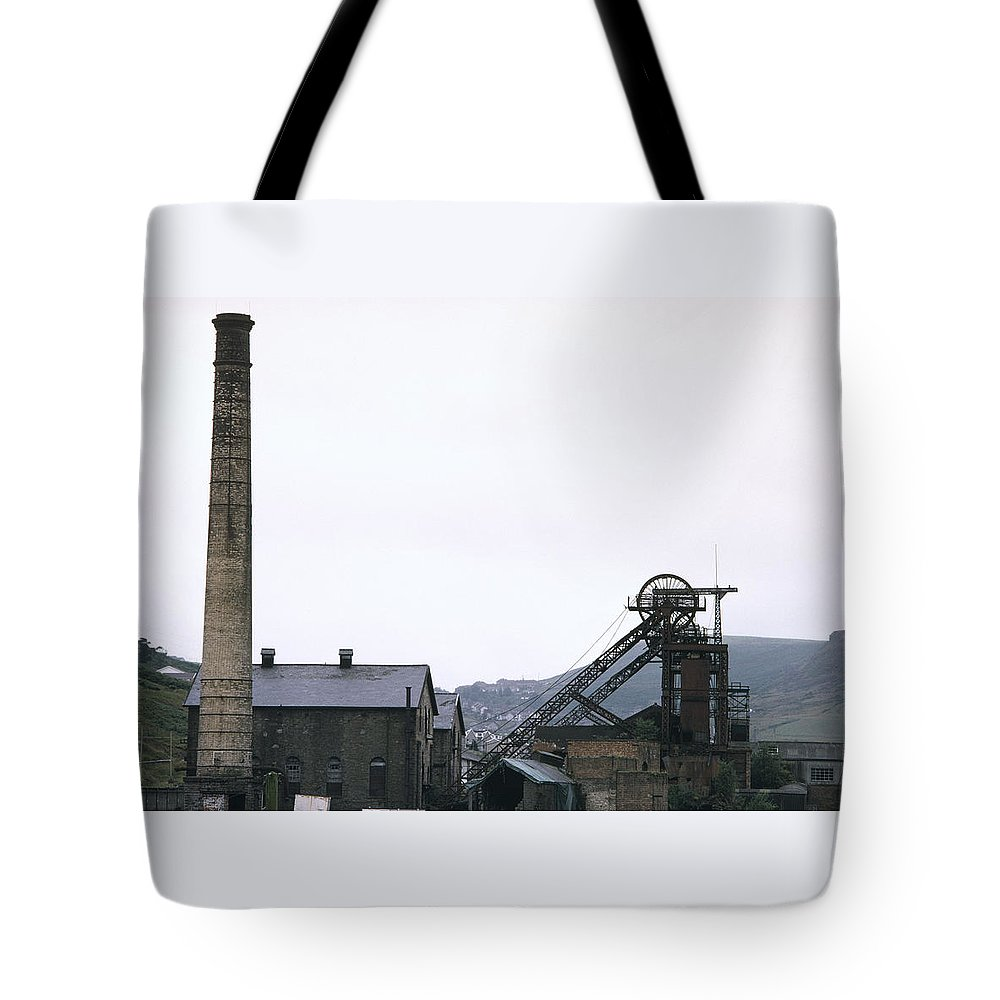 Nostalgia Tote Bag featuring the photograph Coal Mine by Shaun Higson