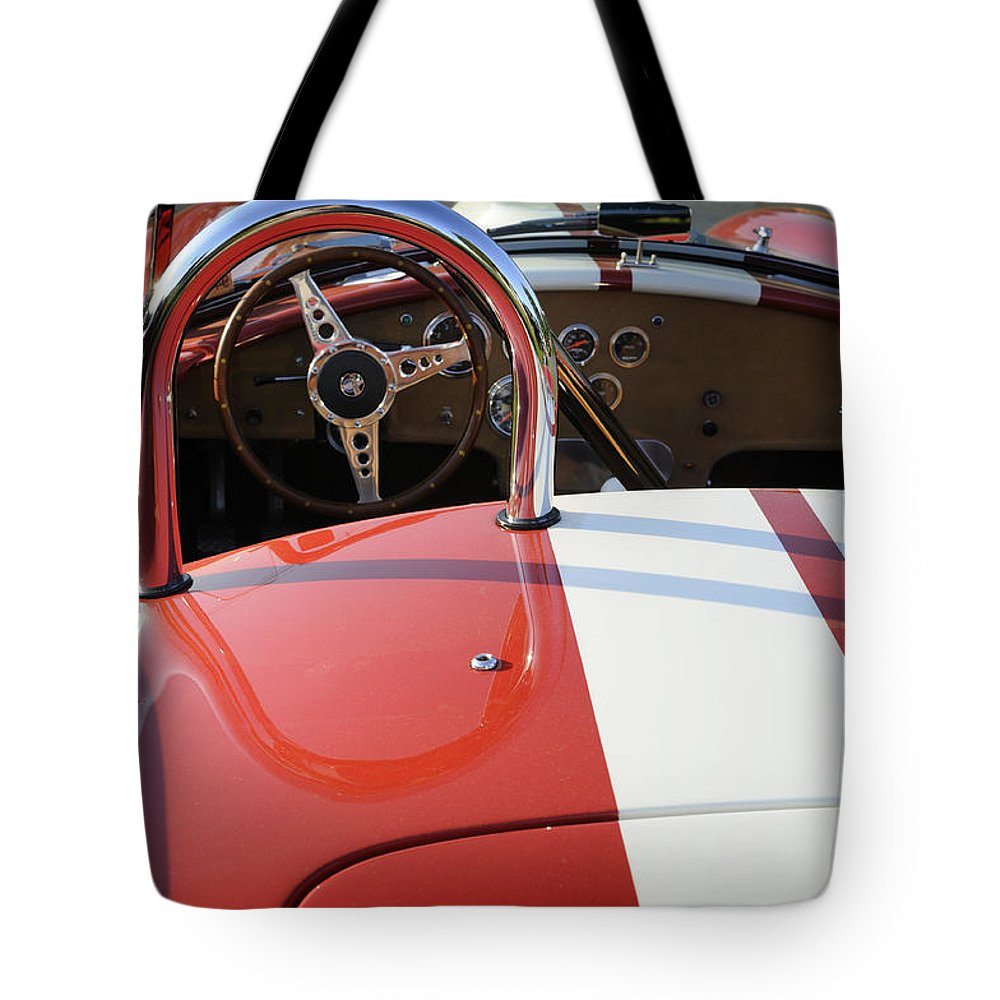 Cobra Tote Bag featuring the photograph Cobra by Luke Moore