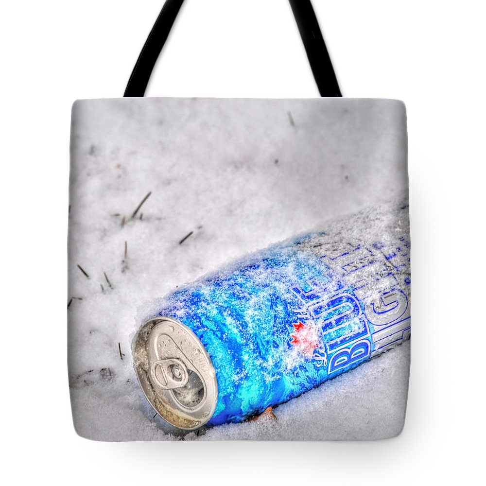 Tote Bag featuring the photograph Cold One by Michael Frank Jr