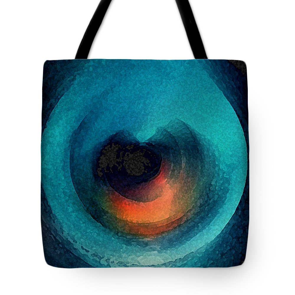 Colette Tote Bag featuring the painting Color Harmony by Colette V Hera Guggenheim