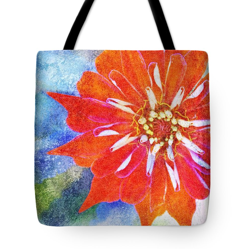 Brett Tote Bag featuring the digital art Color Symphony IIi by Brett Pfister