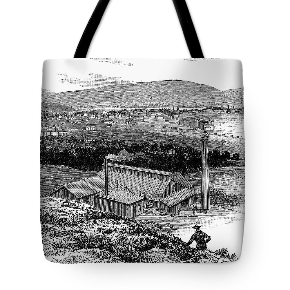 1883 Tote Bag featuring the photograph Colorado: Durango, 1883 by Granger