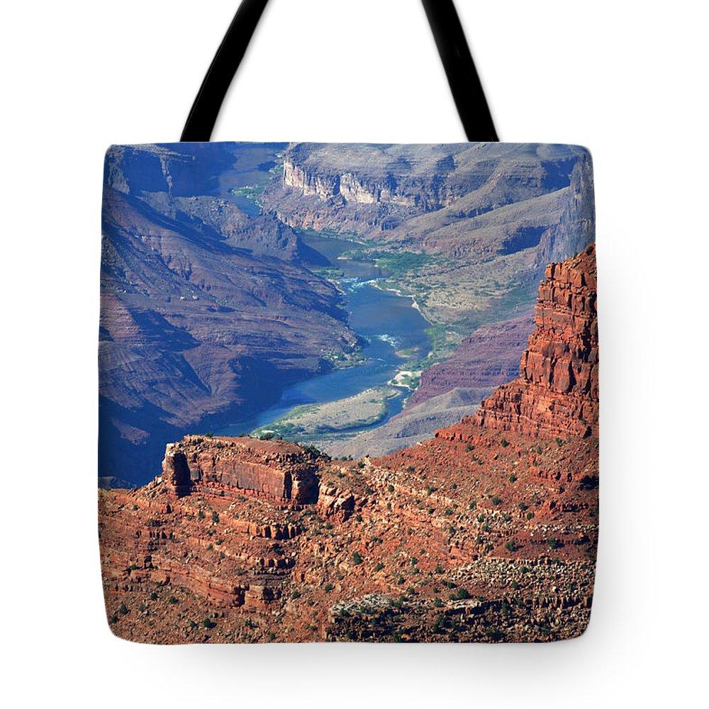 Colorado River Tote Bag featuring the photograph Colorado River I by Julie Niemela