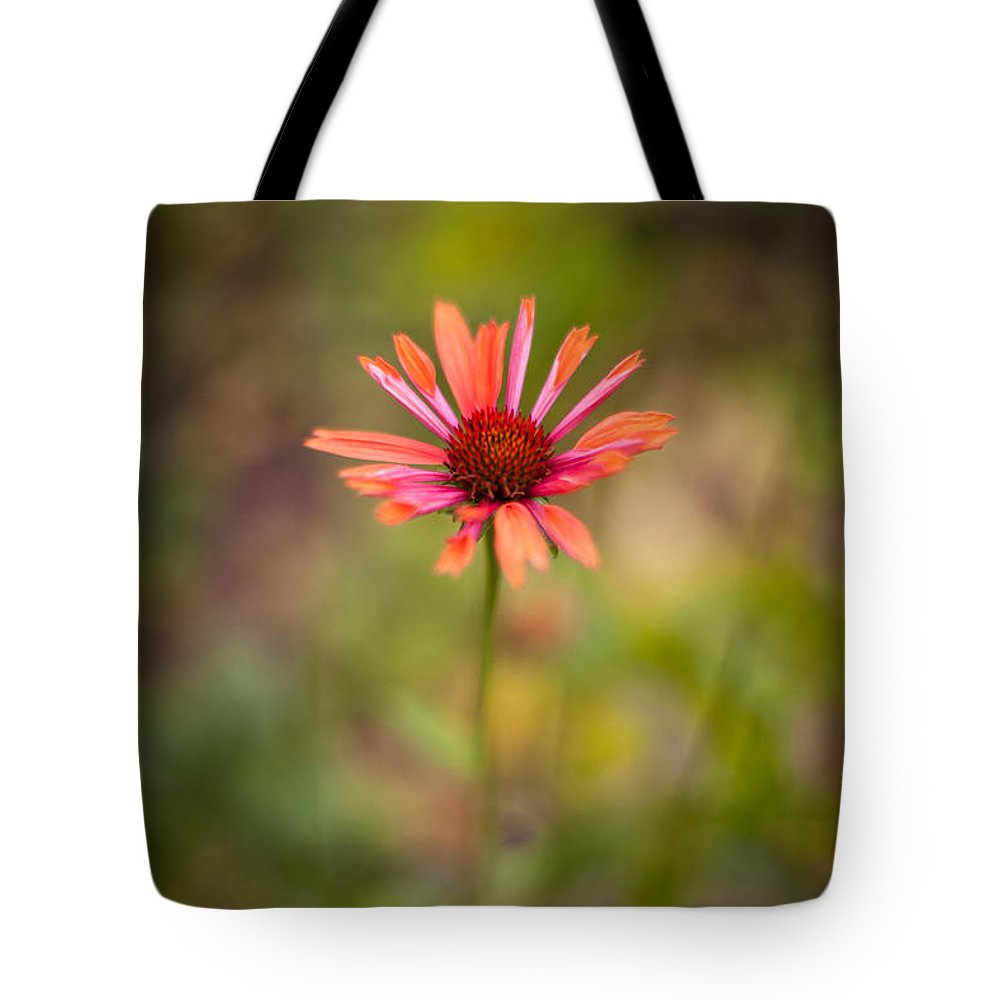 Flower Tote Bag featuring the photograph Colorful Stand by Mike Reid
