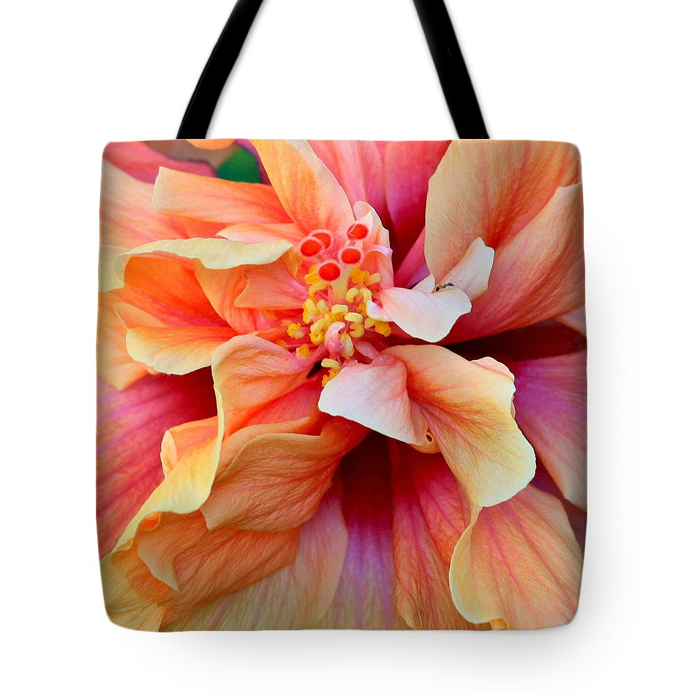 Colors Tote Bag featuring the photograph Coloring Book Hibiscus by Karon Melillo DeVega