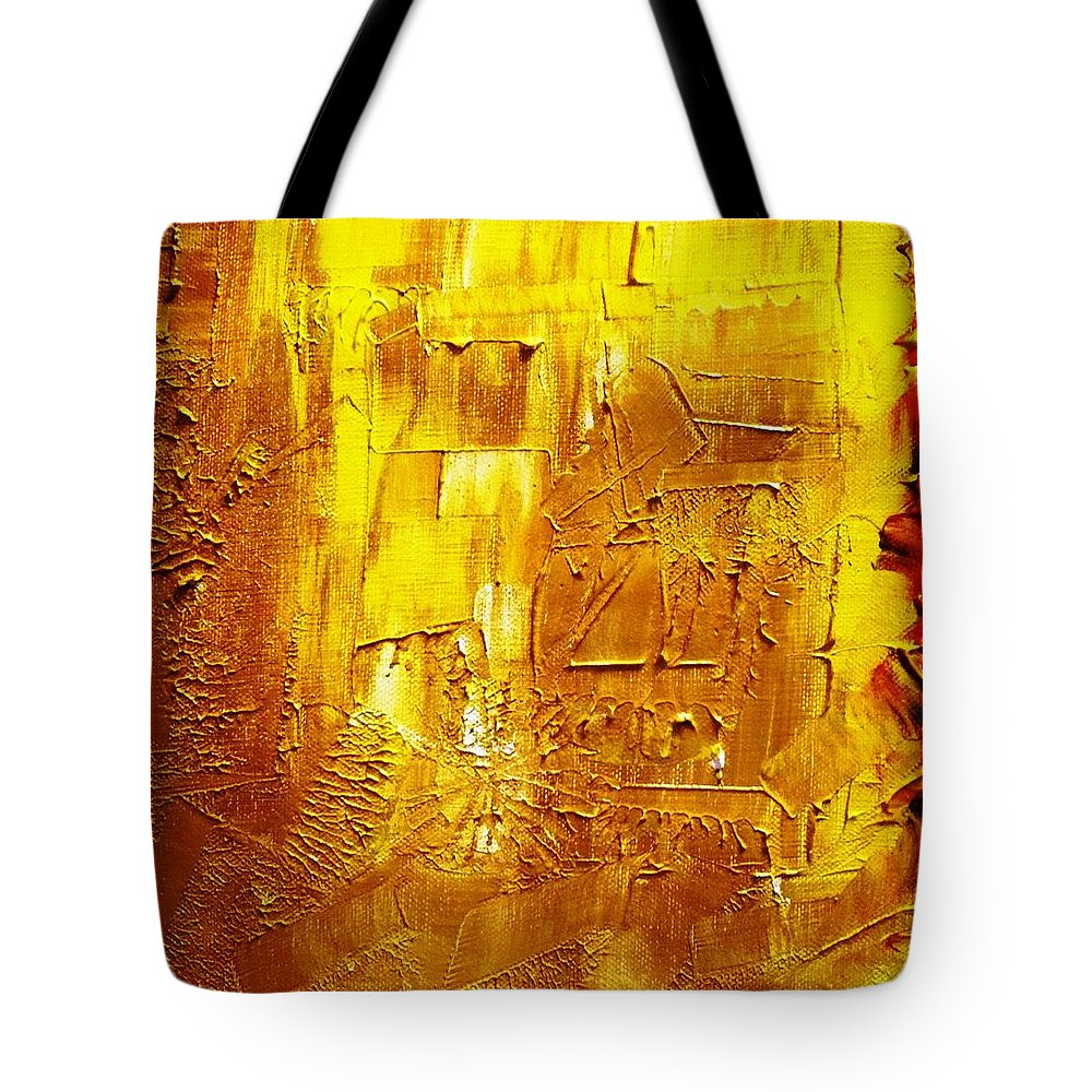 Colors Tote Bag featuring the painting Colorz 7 by Piety Dsilva