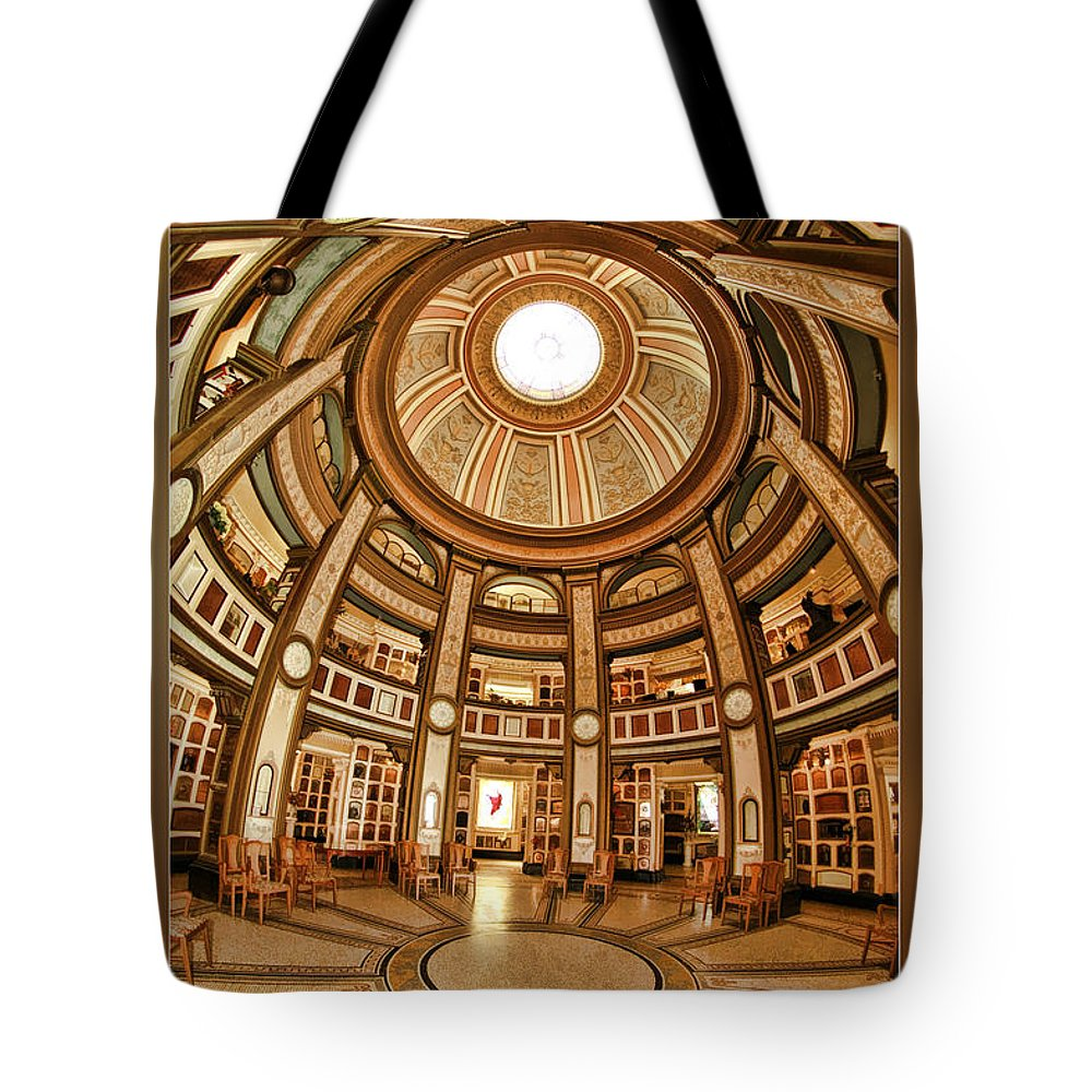 San Francisco Tote Bag featuring the photograph Colvmbarivm Main Room by Blake Richards