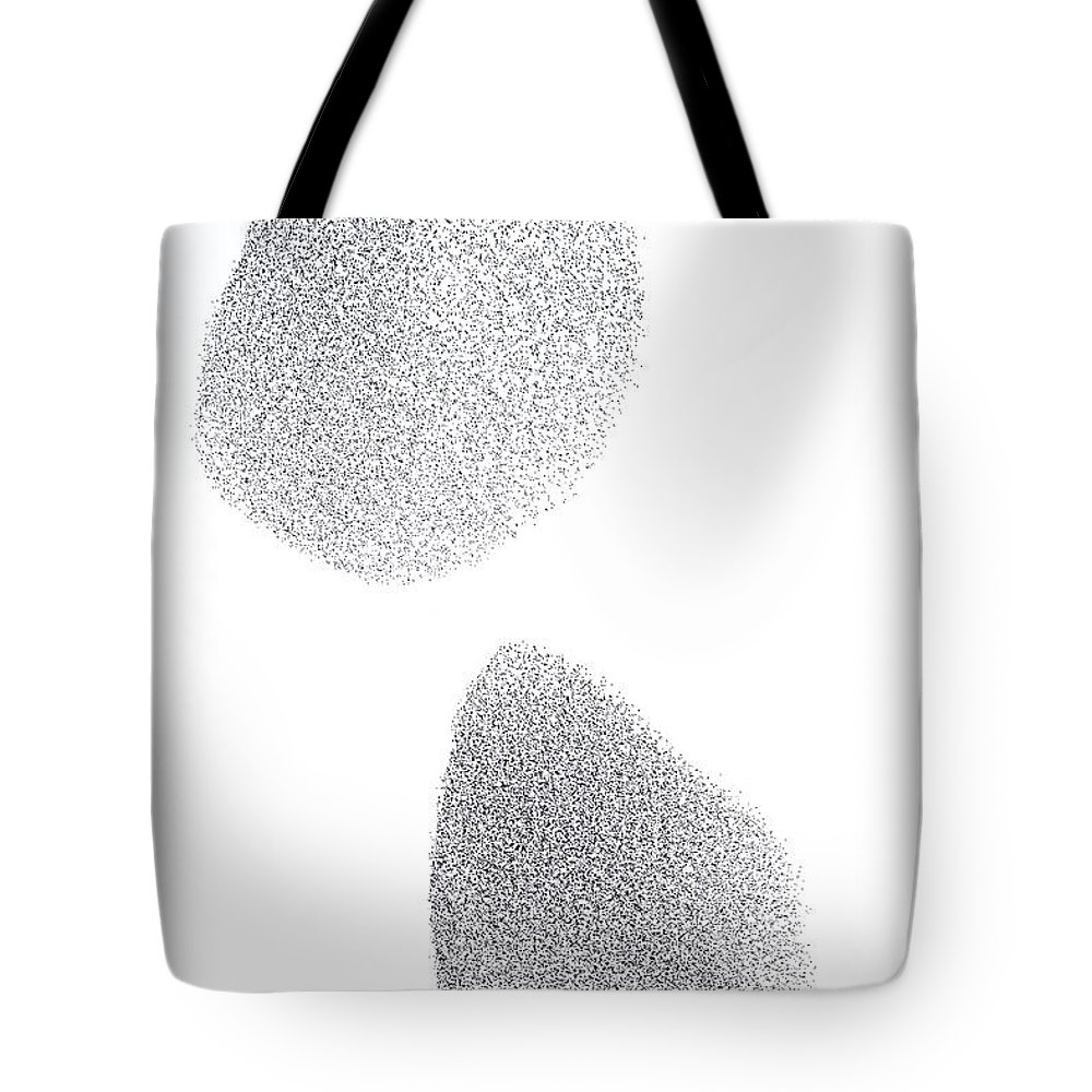 Mp Tote Bag featuring the photograph Common Starling Sturnus Vulgaris Flock by Ingo Arndt