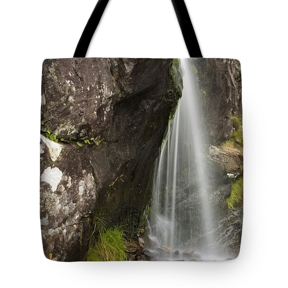 Brook Tote Bag featuring the photograph Connor Pass, Dingle Peninsula, County by Richard Cummins