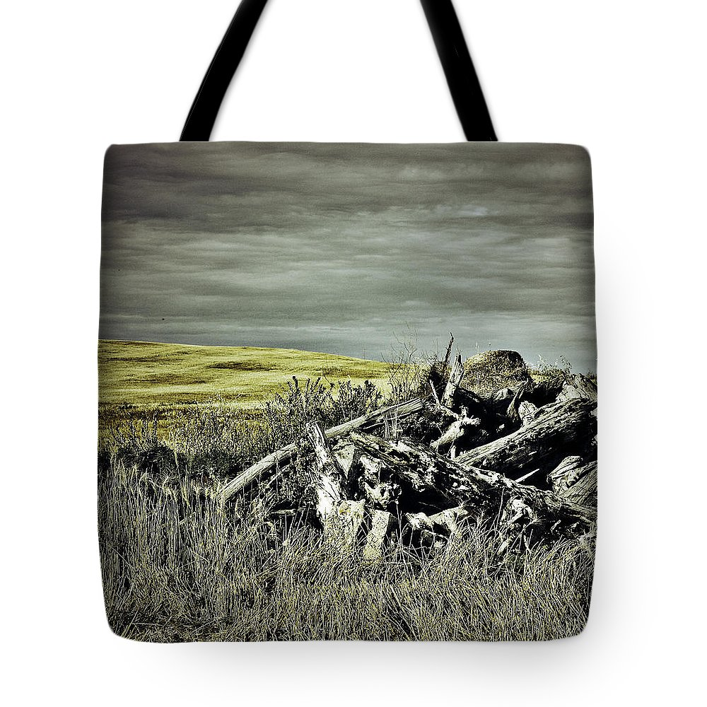 Street Photographer Tote Bag featuring the photograph Controlled Burn by The Artist Project