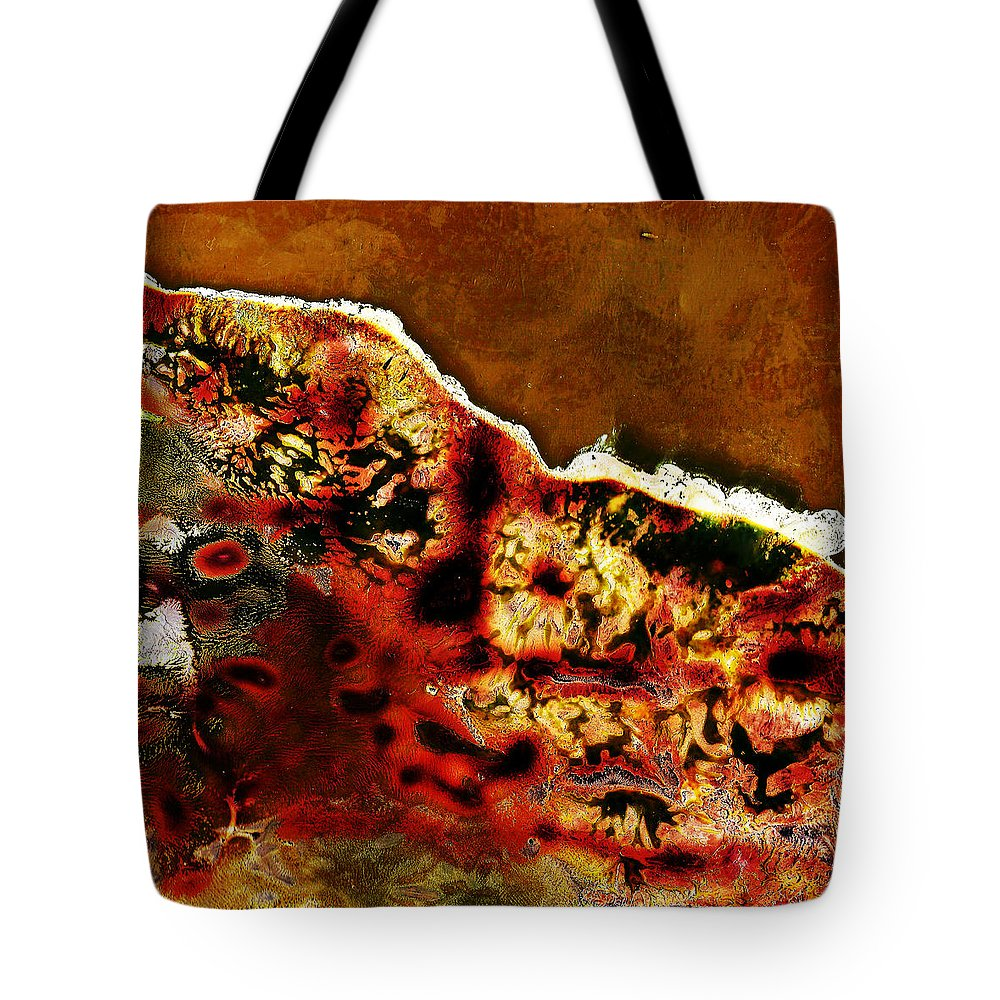 Andy Warhol Tote Bag featuring the photograph Coral 1 by Doug Duffey