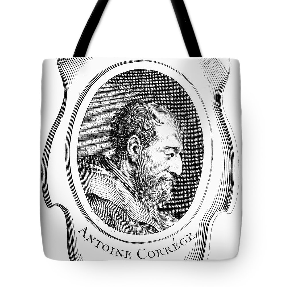 16th Century Tote Bag featuring the photograph Correggio (c1489-1534) by Granger