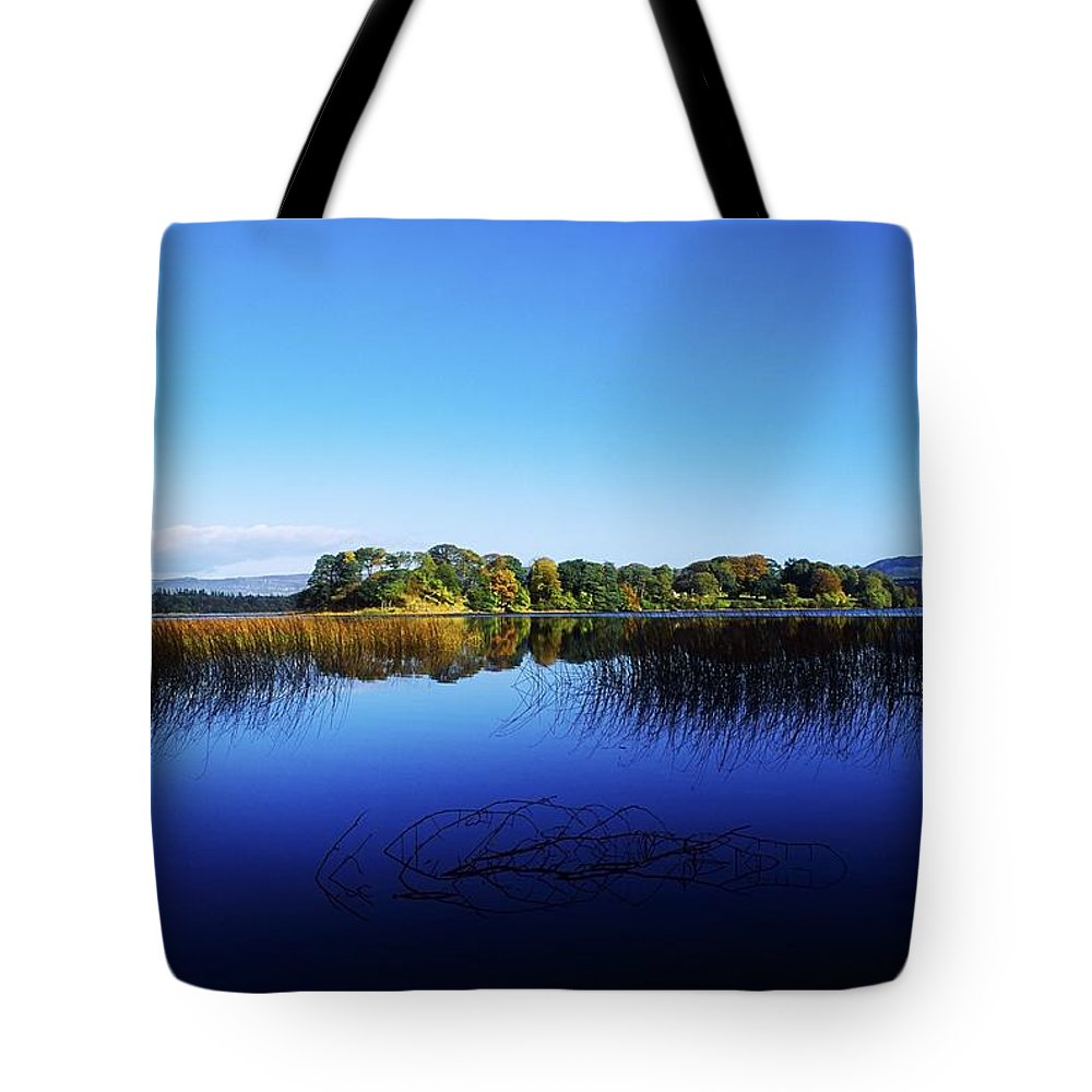 Beauty In Nature Tote Bag featuring the photograph Cottage Island, Lough Gill, Co Sligo by The Irish Image Collection