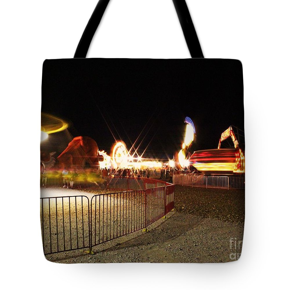 Fair Tote Bag featuring the photograph County Fair by Joey Wilder