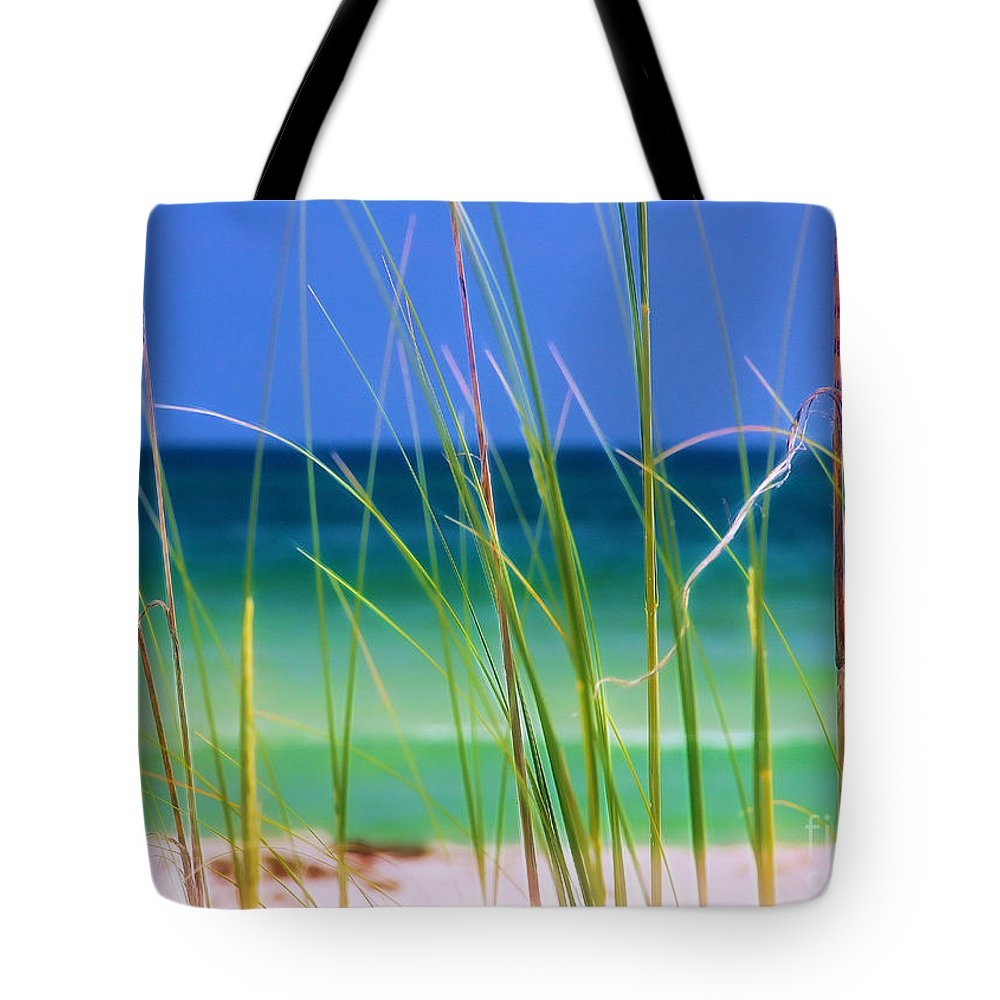 Beach Tote Bag featuring the photograph Crystal Beach by Judi Bagwell