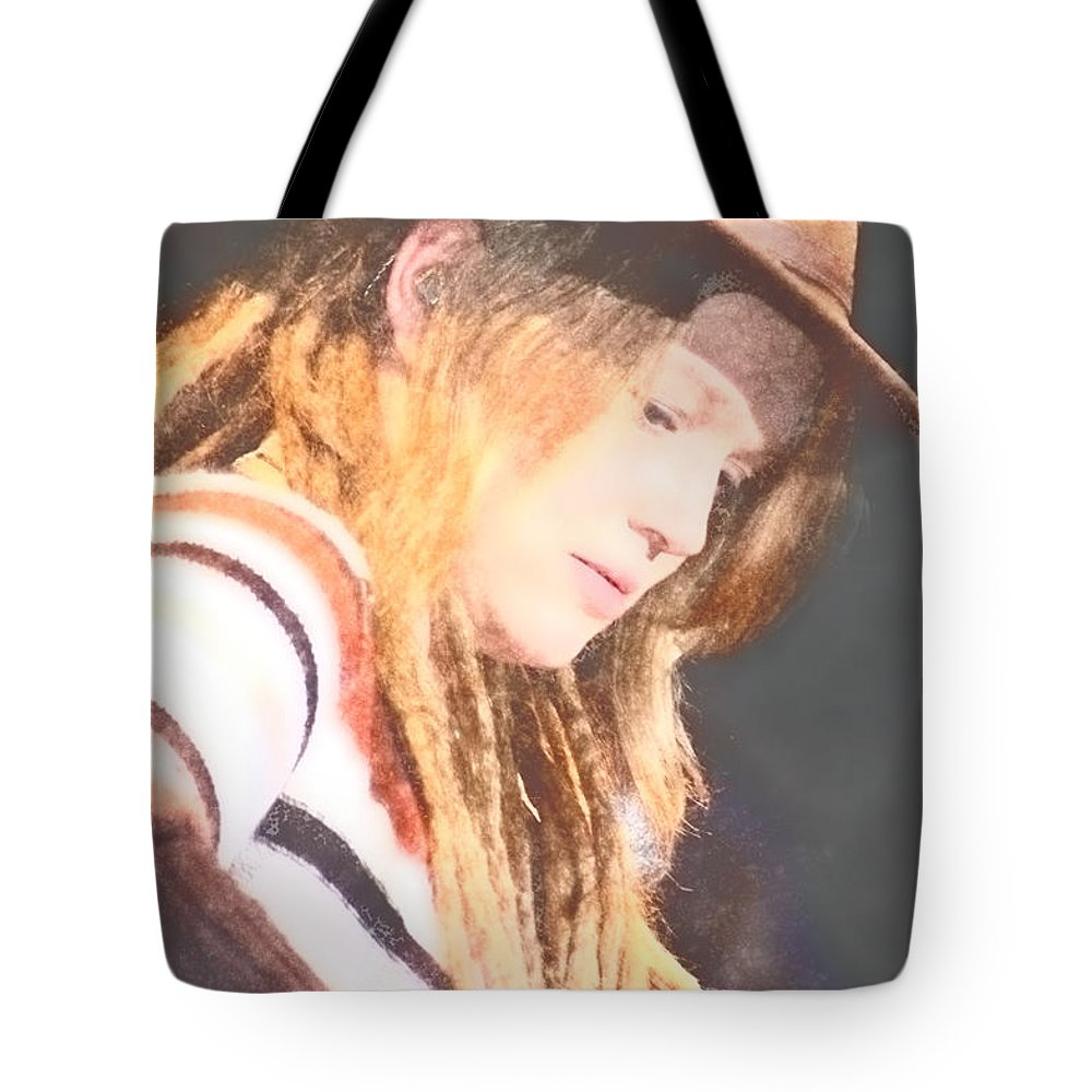 Tote Bag featuring the photograph Crystal Bowersox by Donna Bentley