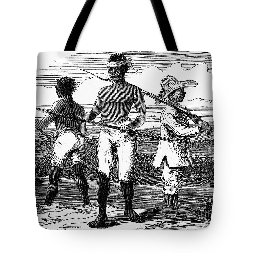1869 Tote Bag featuring the photograph Cuba: Ten Years War by Granger