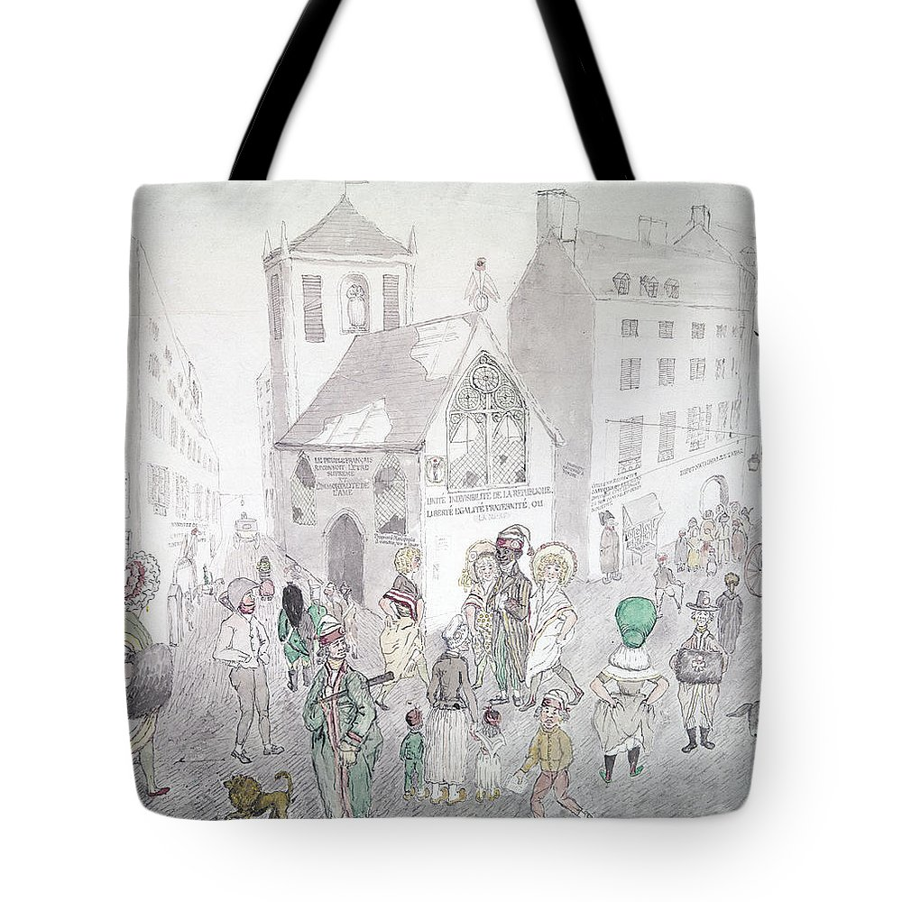 1794 Tote Bag featuring the photograph Cult Of Supreme Being by Granger