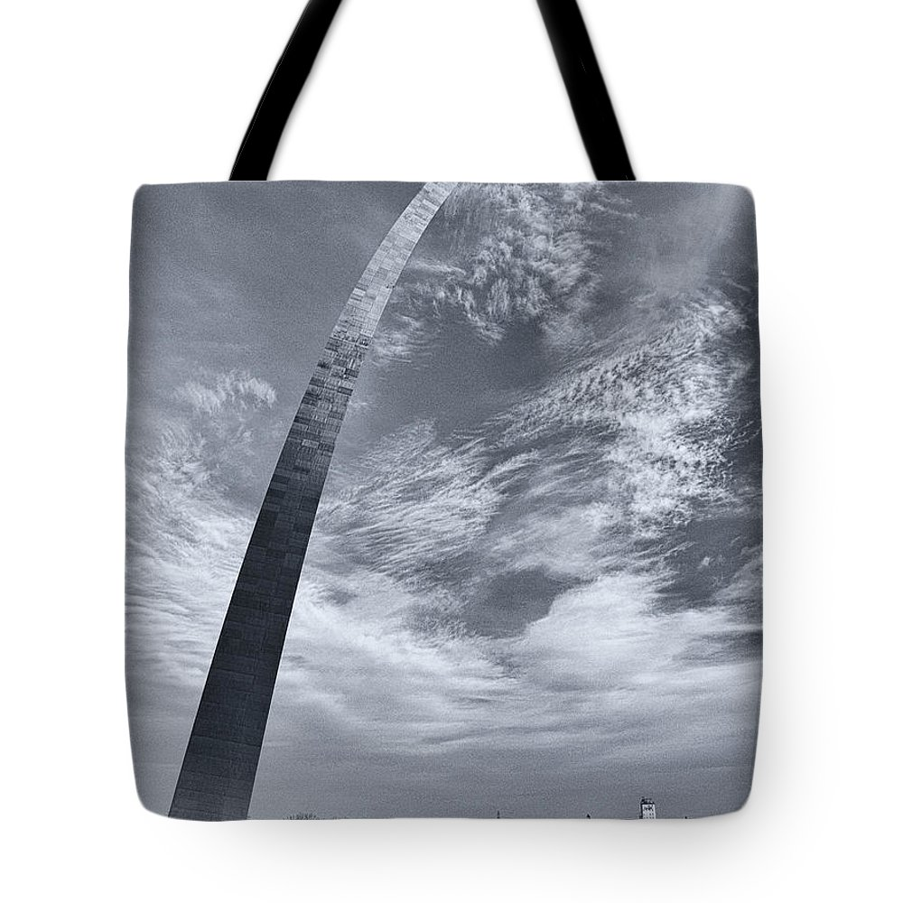 Arch Tote Bag featuring the photograph Curved Arch by Joshua House