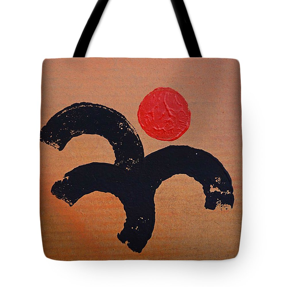 Figure Tote Bag featuring the painting Dancing Figure by Charles Stuart
