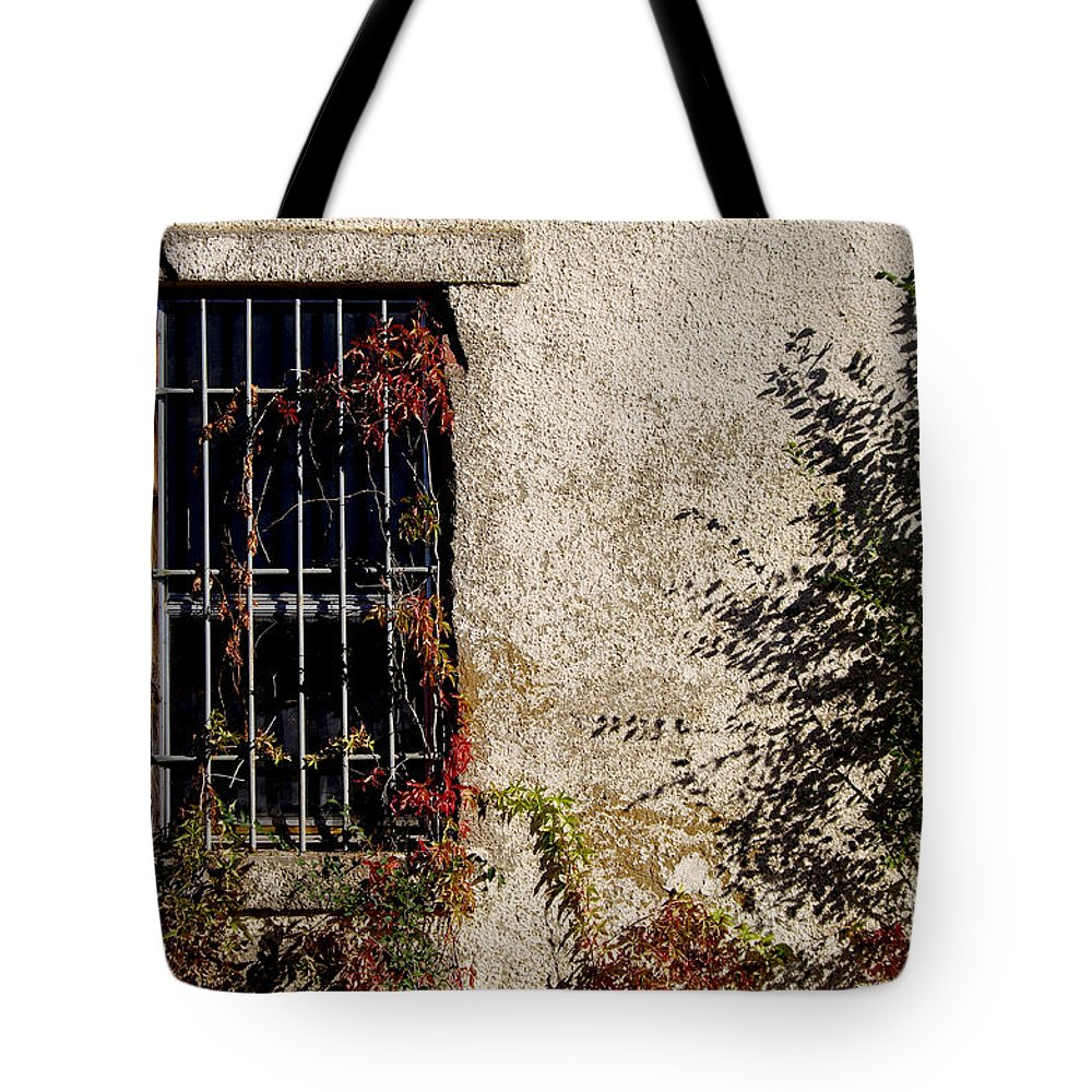 Fort B Tote Bag featuring the photograph Darkness Beyond The Walls by Vicki Pelham