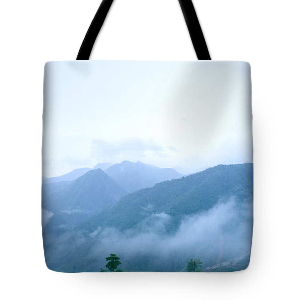 Dawn Tote Bag featuring the photograph Daybreak by Shaun Higson