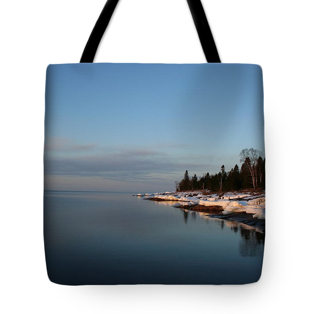 Tote Bag featuring the photograph Dead Calm by Joi Electa